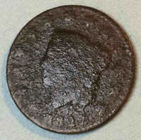 1822 LARGE CENT EARLY DATE