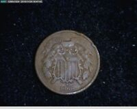 1866 2C TWO CENTS  51-137