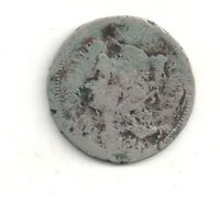 1867 THREE   3   CENT NICKEL ONE COIN