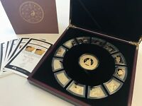 MAQUARIE MINT GOLD PLATED CHINESE LUNAR ZODIAC COLLECTION CO