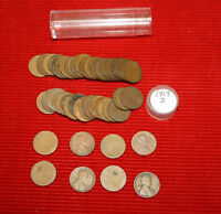 1919 D LINCOLN WHEAT CENTS -  1 CIRCULATED ROLL