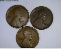 1921 P & S 1922-D 1923 P & S 1C LINCOLN WHEAT CENTS  79,80,81-173