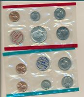 MINT SET 1968 IN CELLO   CHOICE COINS