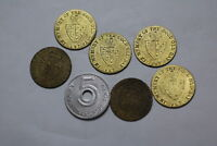 WORLD OLD COINS TOKENS MEDALS LOT A81 P25