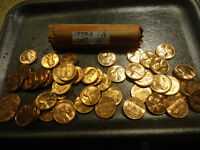 1973 NICE UNC. ROLL OF LINCOLN CENTS    COMBINED SHIPPING