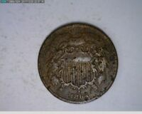 1864 2C TWO CENTS CIVIL WAR COIN 43-244