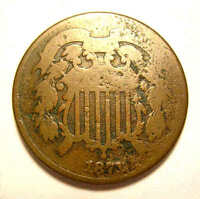 1871 TWO CENT KEY DATE