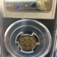 1930   PCGS GRADED CANADIAN  10  CENT   MS 64