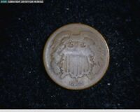 1865 2C TWO CENTS CIVIL WAR COIN  57-137