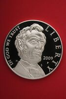 2009 P PROOF ABE LINCOLN COMMEMORATIVE SILVER DOLLAR EXACT COIN SHOWN OCE326