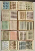 LOT OF  400  US STAMP MINT SHEETS $1 790.93 FACE VALUE UNUSED MNH