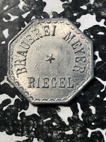 UNDATED RIEGEL GERMANY BEER TOKEN LOTN390 BRAUEREI MEYER