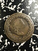 1812 LOWER CANADA TIFFEN TOKEN HALF 1/2 PENNY LOTX7660