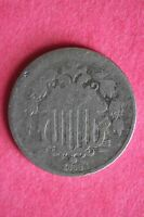 1868 SHIELD NICKEL EXACT COIN PICTURED FLAT RATE SHIPPING COIN TOM031