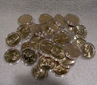 PRESIDENTIAL DOLLAR COLLECTION - MIXED MINTS  - QTY 36 COINS 2007 THRU 2015