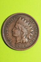 1909 P INDIAN HEAD CENT PENNY EXACT COIN PICTURED FLAT RATE SHIPPING OCE 566