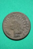 1873 INDIAN HEAD CENT PENNY BRONZE EXACT COIN PICTURED FLAT RATE SHIPPING OCE832