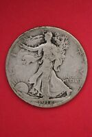 1918 S WALKING LIBERTY HALF DOLLAR EXACT COIN PICTURED FLAT RATE SHIPPING OCE490