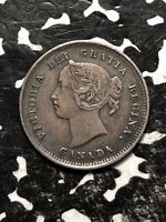1889 CANADA 5 CENT SILVER LOTJM081 KEY DATE  NICE