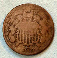 1869 TWO CENT BETTER DATE