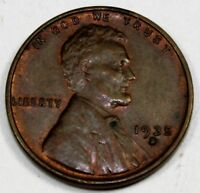1935-S UNITED STATES LINCOLN WHEAT CENT / PENNY - BU BRILLIANT UNCIRCULATED