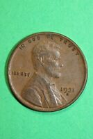 1931 D LINCOLN WHEAT CENT PENNY EXACT COIN PICTURED FLAT RATE SHIPPING OCE789