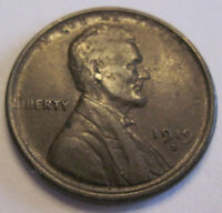 1919 S LINCOLN WHEAT CENT COLLECTOR COIN GRADES CHOICE ABOUT UNC 415C