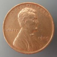 1909 LINCOLN WHEAT CENT CENT 1C US MINT COIN
