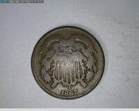 1867 2C TWO CENT 55-221
