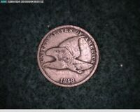 1858 FLYING EAGLE CENT   48-114