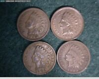 1900 1901 1902 1903 INDIAN HEAD CENTS   59-120