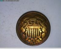 1867 2C TWO CENTS  42-244