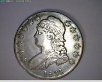 1834 CAPPED BUST HALF DOLLAR  12-41