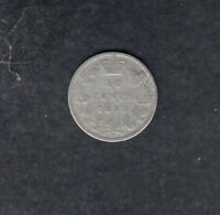1890H CANADA SILVER 10 CENTS