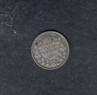 1913 SMALL LEAVES CANADA SILVER 10 CENTS