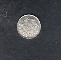 1920 CANADA SILVER 10 CENTS