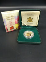 2012 CANADA STERLING SILVER COIN GOLDEN TULIP