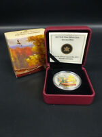 2013 CANADA 20 DOLLARS FINE SILVER COIN AUTUMN BLISS