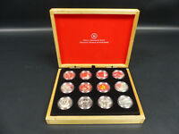 2013 CANADA FINE SILVER 10 DOLLARS COIN SET OF 12