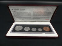1998 CANADA STERLING SILVER COIN SET 90TH ANN