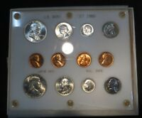 1960 UNCIRCULATED SET  P AND D 1 THRU 50  LARGE AND SD  GEM