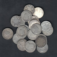 1902 10 CANADA 25 CENTS SILVER COIN LOT OF 25