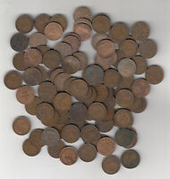 1920 36 CANADA SMALL CENTS LOT OF 100
