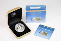 2008 PERTH MINT $1 1OZ SILVER PROOF 150 YEARS OF AUS FOOTBAL
