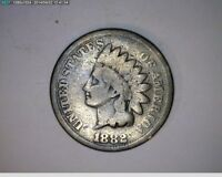 2  1882 & 1903 INDIAN HEAD CENTS   13,14,16-61