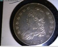 CAPPED BUST HALF 1829 HIGH GRADE  13-20