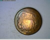 1866 TWO CENT PIECE   33-79  FILLER