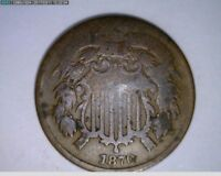 1870 2C TWO CENTS  22-211