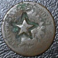 USA INDIAN HEAD PENNY - A STAR IS COUNTERSTAMPED -