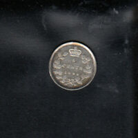 1894 CANADA SILVER 5 CENTS